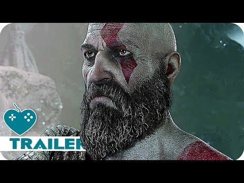 GOD OF WAR 4 E3 2017 Gameplay Trailer (2018) PS4 Game