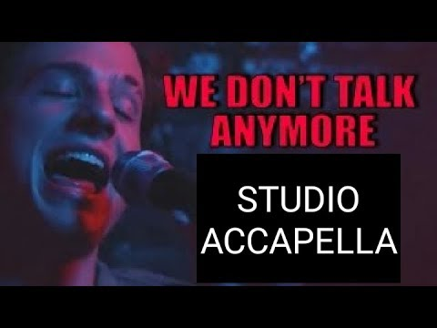 Charlie Puth We Don T Talk Anymore Acapella Free Download Link In