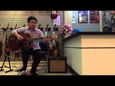 Music Toy ตอนที่12 review Crafter GAE8 MH ไม้solid Mahogany