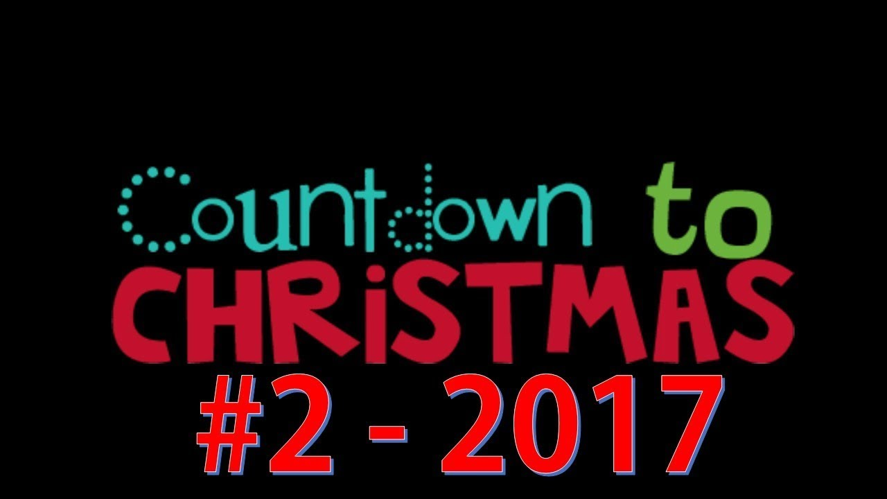 how many days until christmas 2 2017
