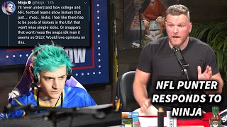 Download Pat McAfee Responds To Ninja Talking About NFL Kickers Missing Mp3 and Videos