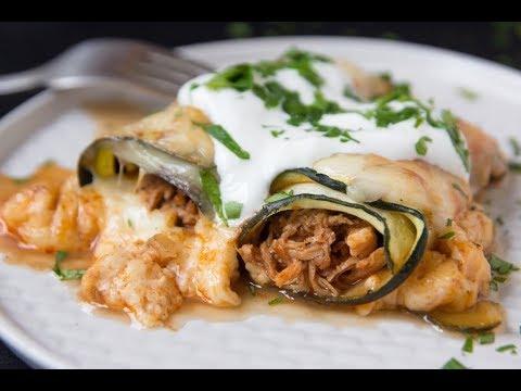 Chicken and Zucchini Enchiladas