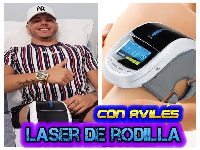 Clínicas Francisco Hinojosa - Tratamiento con láser de rodilla