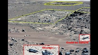 Mars Anomalies galore: Pyramids, statues, coins, glyphs, machinery, fossils, bones, wood