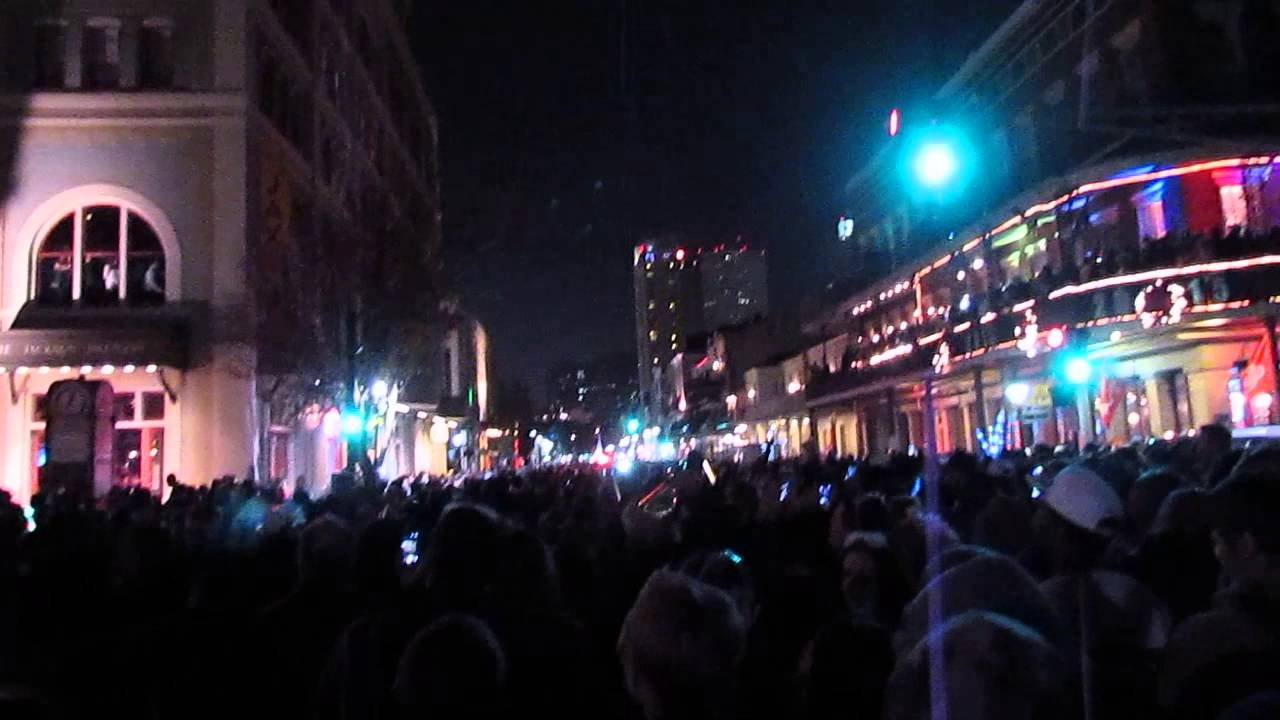 New Year's Eve 2014 in the French Quarter, New Orleans ...