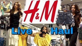 H&M LIVE Haul Juli 2018 - Stress mit Mitarbeiterin ⚡️-Yaseminboom