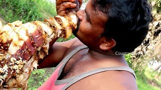 Roasted pig full leg| Country Boys | Country foods