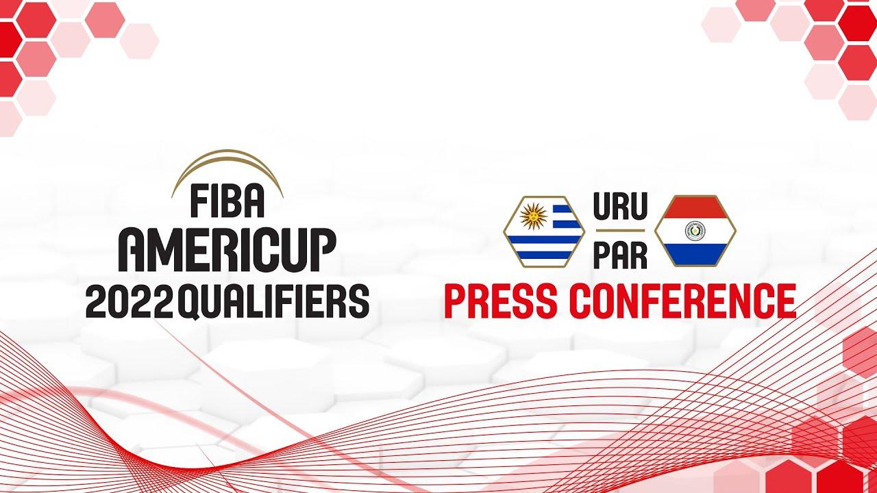 Uruguay v Paraguay - Press Conference - FIBA AmeriCup Qualifiers 2022