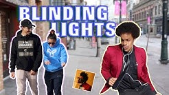 BLINDING LIGHTS In Public!