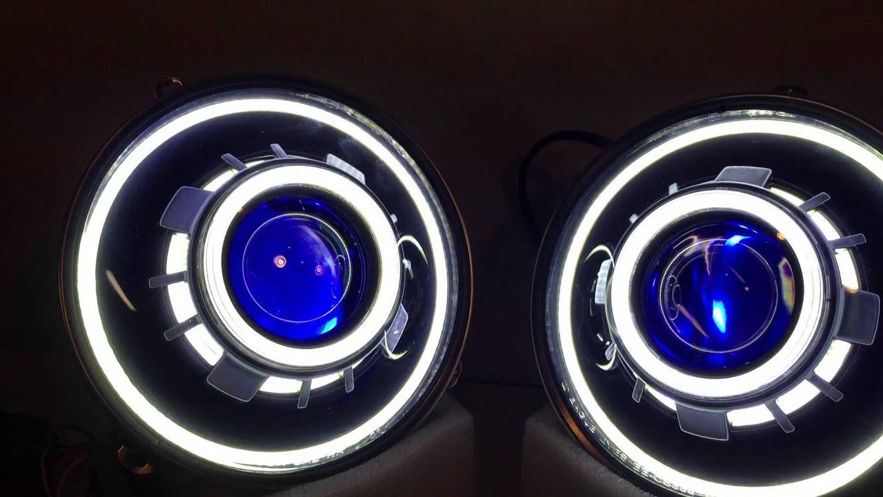 Hidprojectors Bi Xenon Projector Headlights 7 Quot Round