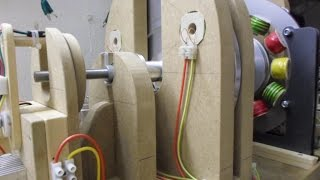 Single Phase Generator_Update 15, Output Chokes/Variac test and it's about bloody time too...