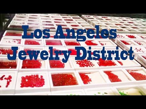 Prof. John Takes Us On A Tour Of The LA Jewelry District
