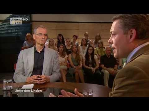 """""""Terror im 21. Jahrhundert - Der Rechtsstaat und die Angst"""" - Unter den Linden vom 12.09.2016"""