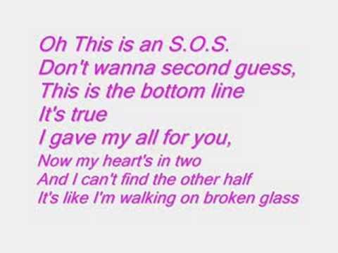 de paroles de chanson en anglais