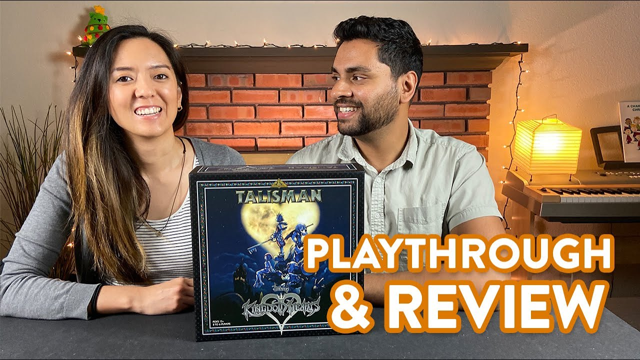 Talisman Kingdom Hearts Playthrough Review Youtube