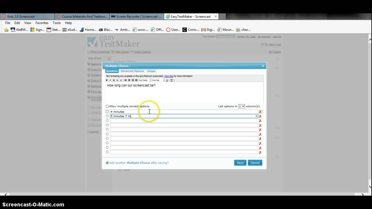 easy TestMaker web 2 0 tool
