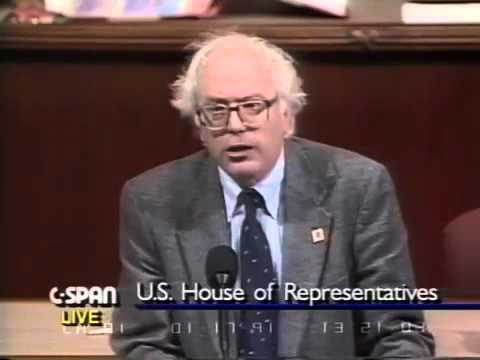 Bernie Sanders on Persian Gulf War (1/17/1991)