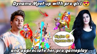 Dynamo gaming meet-up with pro girl after long time