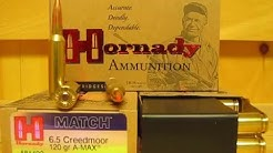 6.5 Creedmoor 120 grain A-MAX Ammo 81492 at SGAmmo.com