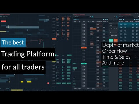 The best trading platform 2021 | DOM, visual order flow, volume profile and more