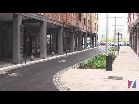 Finaliza la primera fase de las obras entre las calles San Jerónimo y Jesús Aranburu