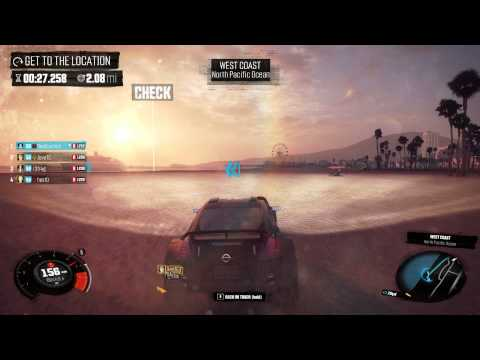 "The Crew - ""Lifeguard"" Faction Mission Community Challenge 20427 points [Top 3 Season Pass Winner]"