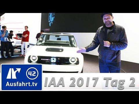 Mercedes EQA, EQ Ready App, Wey, Honda Urban EV, Opel Insignia CNG, Porsche   IAA 2017