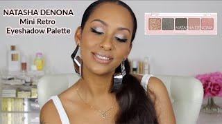 NATASHA DENONA Mini Retro Eyeshadow Palette   Review + Tutorial   Mo Makeup Mo Beauty