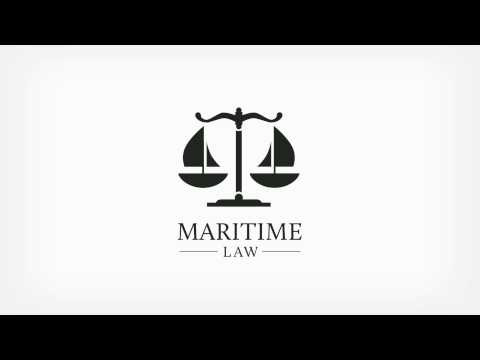 Maritime Law Logo Animation