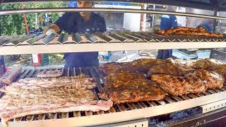 Parrillada and Asado. Argentina Street Food