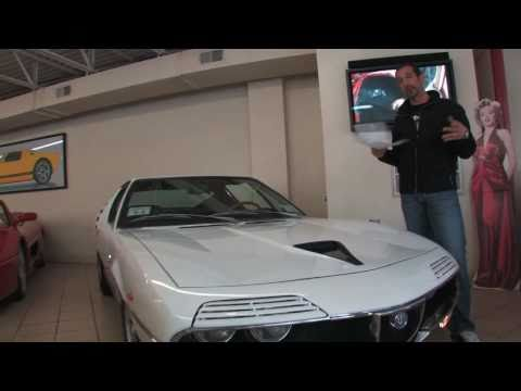 1971 Alfa Romeo Montreal for sale with test drive, driving sounds, and walk through video