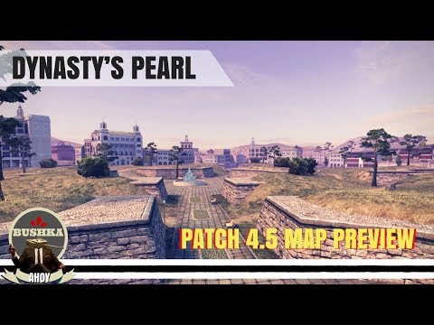 NEW MAP DYNASTY'S PEARL PATCH 4 5 World of Tanks Blitz