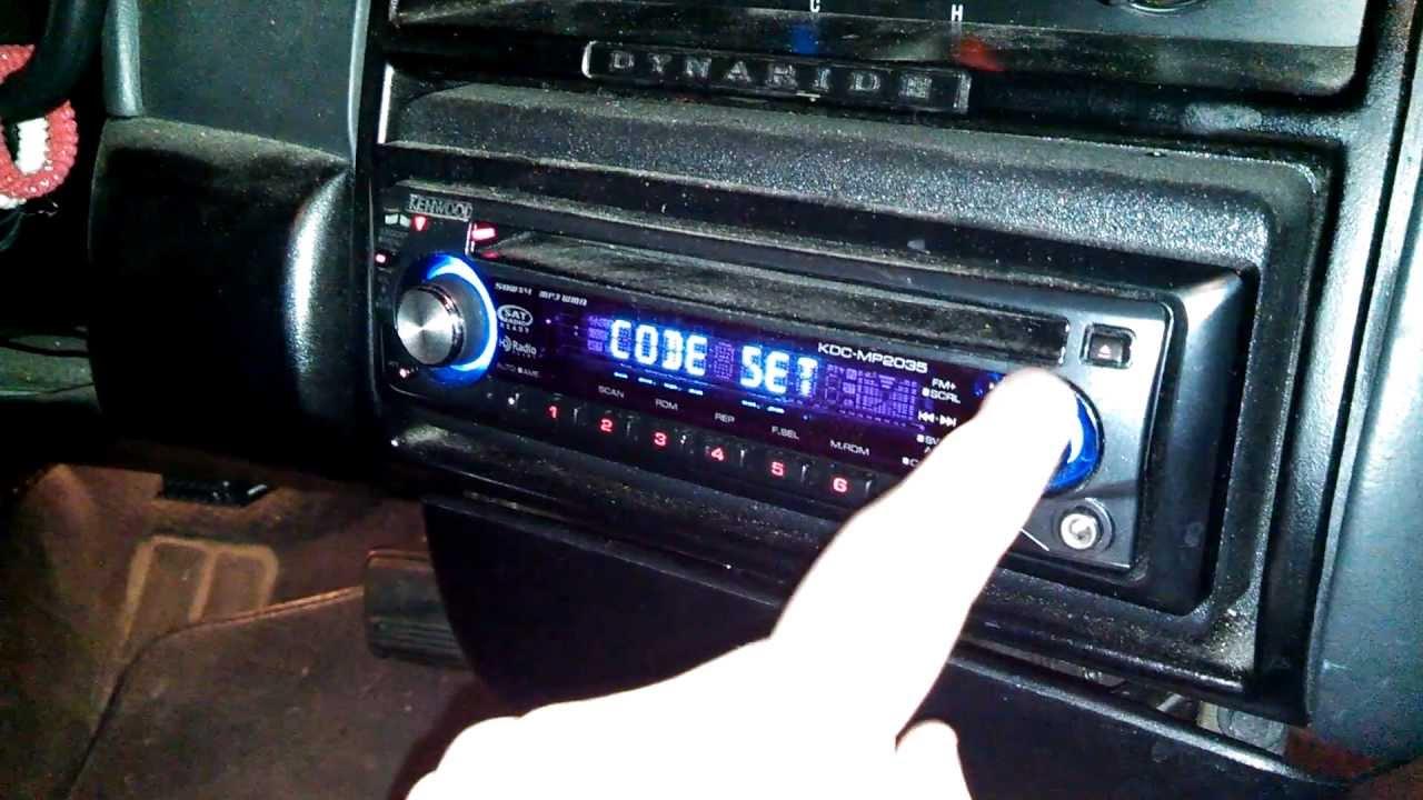 Manual Clock Adjustment Kenwood Kdc Mp