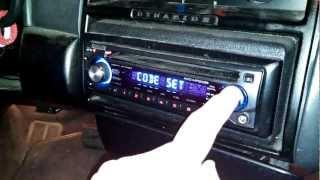Manual clock adjustment Kenwood KDC-MP2035