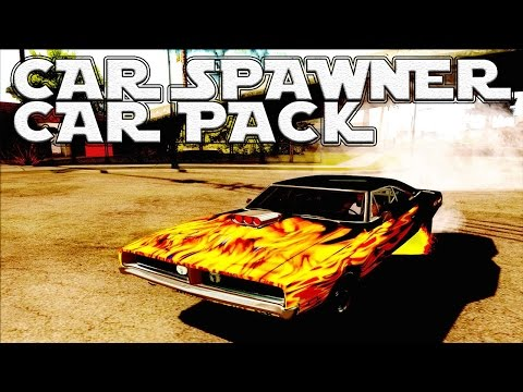 GTA San Andreas Mods - Car Pack With Autoinstall + Car Spawner [DOWNLOAD]