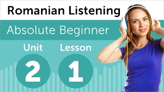 Romanian Listening Practice - Seeing a Movie in Romanian