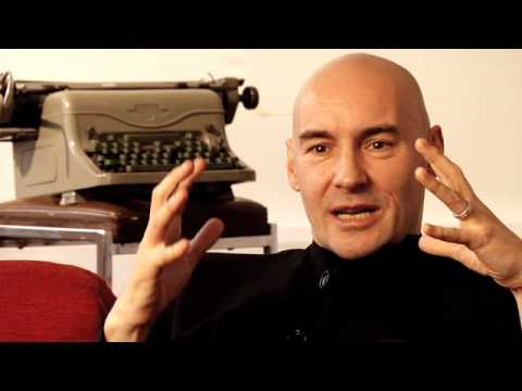 "Grant Morrison: Talking with Gods ""All Star Superman"" clip"