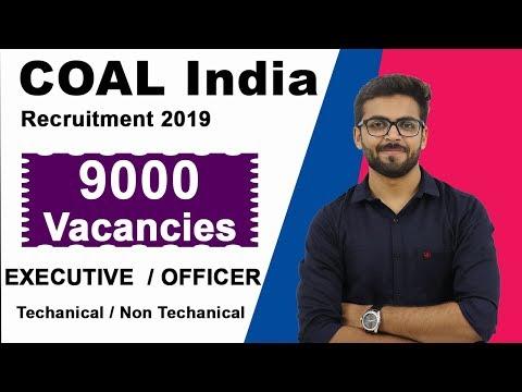 Coal India Recruitment Executive Officer | 9000 Vacancies | TRUE Or FAKE ?? | Latest Jobs 2019