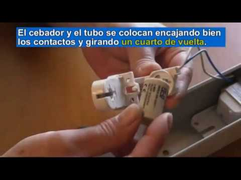 Reparar pantallas de tubos fluorescentes aver as del for Porta tubos fluorescentes