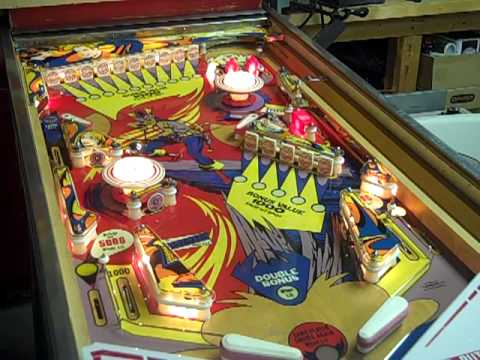 solar city pinball machine