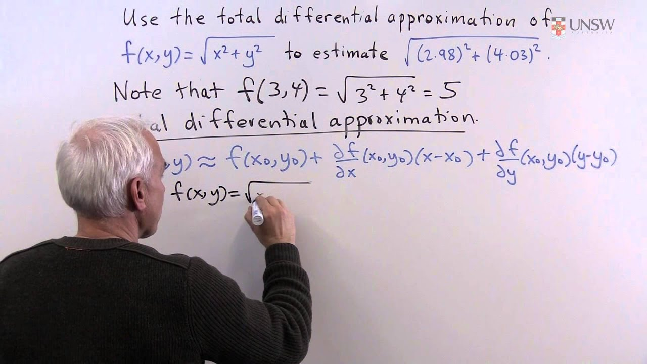 Ch1Pr7: Total Differential Approximation