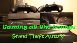 Gaming at the Lounge - GTA V part 7
