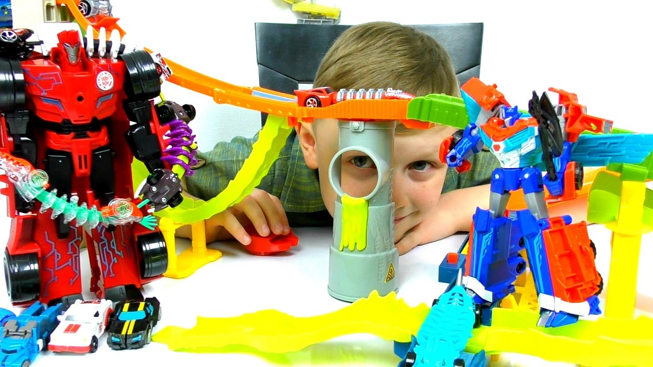 ТРАНСФОРМЕРЫ Автоботы и МАШИНКИ Хот Вилс Hot Wheels Решили Купить ХОМЯЧКА Видео для детей