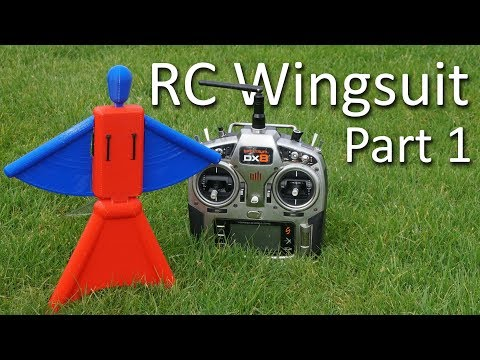 RC Wingsuit - Part 1