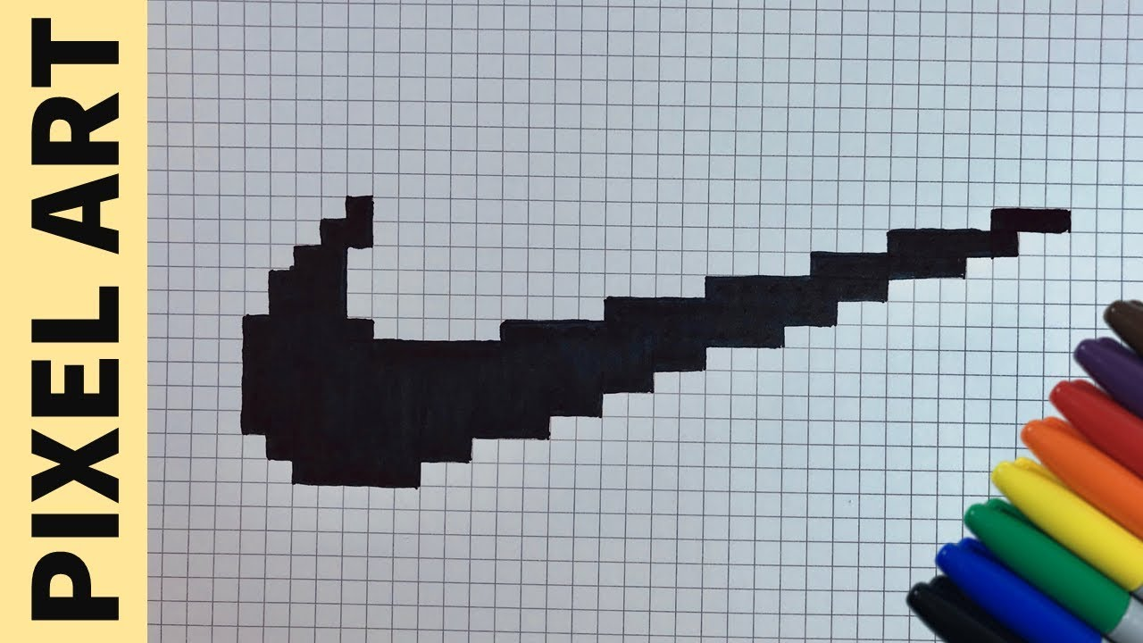 Come Disegnare Logo Nike Pixel Art How To Draw Logo Nike Pixelart