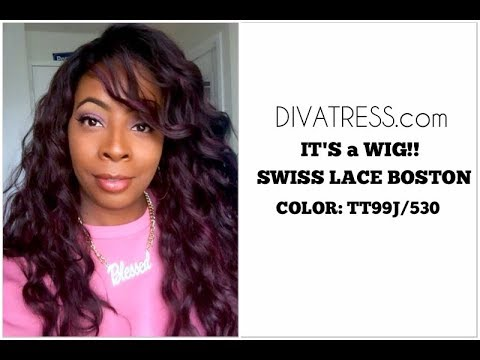 IT\'S a WIG!! | SWISS LACE BOSTON Lace Front Wig COLOR: TT99J/530 ...
