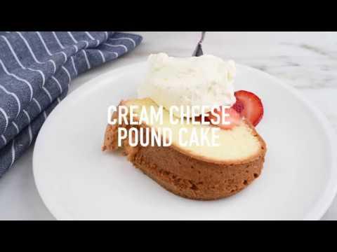 Cream Cheese Pound Cake Recipe- Add A Pinch