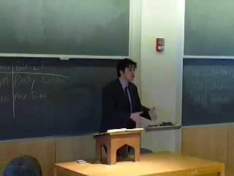 Boston University Debate Society at Nationals Quarterfinals