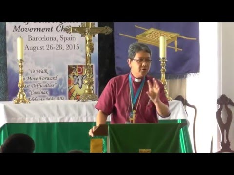 1st Europ. Convoc. of Convergence Movement Churches - DAY 2 - Bp. Geronimo