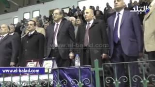 بالفيديو والصور.. محافظ الدقهلية يشهد احتفال بالعيد القومى باستاد المنصورة